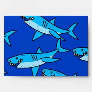 Papel pintado del tiburón sobre