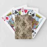 Papel pintado del vintage cartas de juego