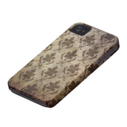 Papel pintado del vintage Case-Mate iPhone 4 funda