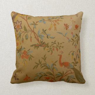 Papel pintado del vintage almohadas