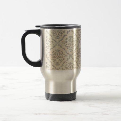 Papel pintado del vintage taza de café