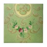 Papel pintado del vintage tejas  cerámicas