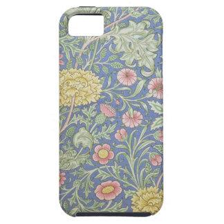 Papel pintado floral de William Morris, diseñado Funda Para iPhone 5 Tough