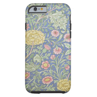 Papel pintado floral de William Morris, diseñado Funda Para iPhone 6 Tough