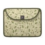 Papel pintado floral del vintage funda para macbook pro