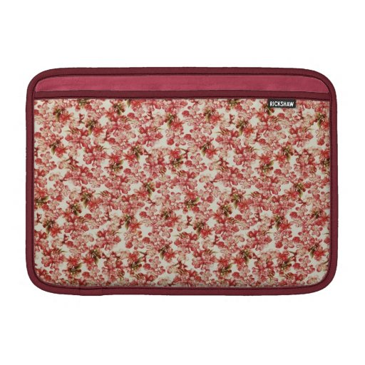 Papel pintado floral del vintage fundas MacBook