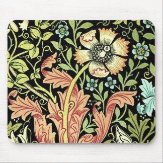 Papel pintado floral del vintage tapete de ratones
