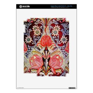 Papel pintado floral hermoso del vintage pegatina skin para iPad 3