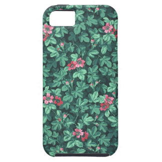Papel pintado floreciente del arbusto color de ros iPhone 5 Case-Mate cobertura