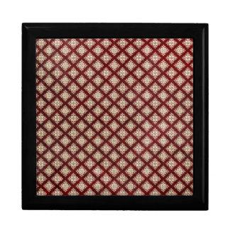 Papel pintado gótico rojo cajas de regalo