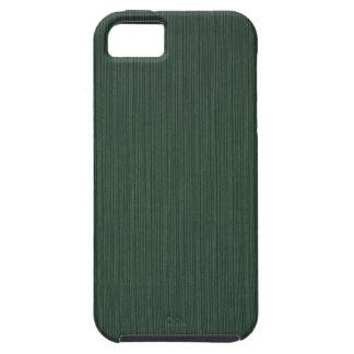 Papel pintado ligero y verde oscuro de las rayas,  iPhone 5 Case-Mate protector