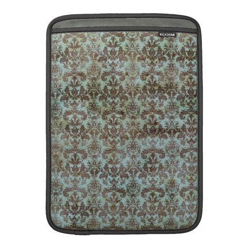 Papel pintado manchado vintage funda macbook air