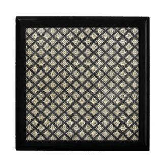 Papel pintado negro gótico cajas de recuerdo