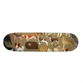 """Papel pintado pedigrí del perro patineta 8 1/8"""""""