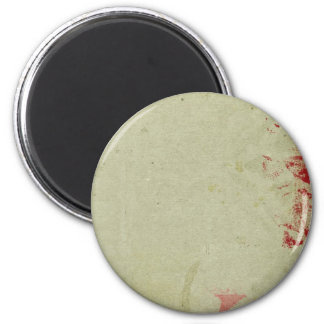 Papel pintado sucio colorido del vintage imán redondo 5 cm