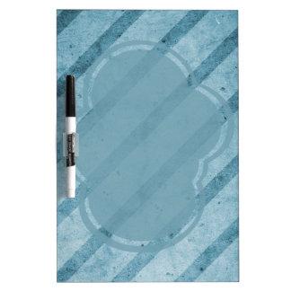 Papel pintado sutil rayado azul del Grunge Pizarra