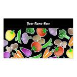 Papel pintado vegetal, su nombre aquí plantilla de tarjeta de negocio