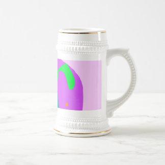Papel puro del huevo del lápiz de la meditación de tazas de café