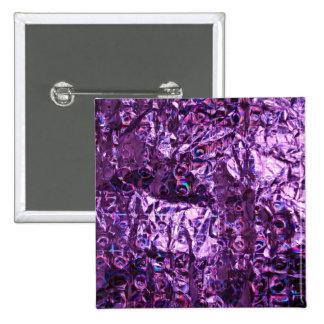 Papel púrpura del holograma pins