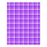 Papel púrpura del libro de recuerdos de la tela es membretes personalizados