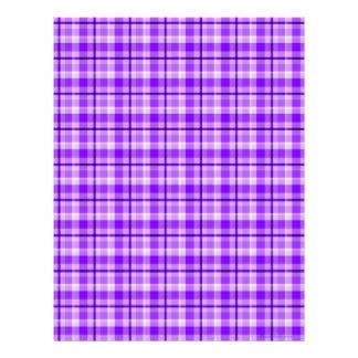 Papel púrpura del libro de recuerdos de la tela es plantillas de membrete