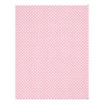 Papel rosa claro del libro de recuerdos del lunar plantillas de membrete