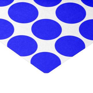 Papel seda azul básico del lunar