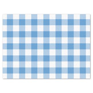 Papel seda azul claro y blanco del modelo de la papel de seda grande