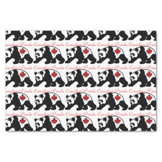 Papel seda canadiense de la panda papel de seda pequeño