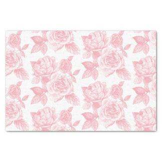 Papel seda color de rosa del bosquejo en rosa papel de seda pequeño