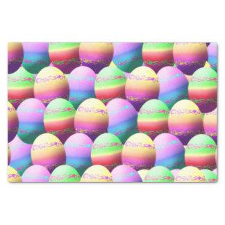 Papel seda colorido del regalo de los huevos de papel de seda pequeño