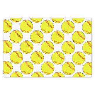 Papel seda de encargo del softball papel de seda pequeño