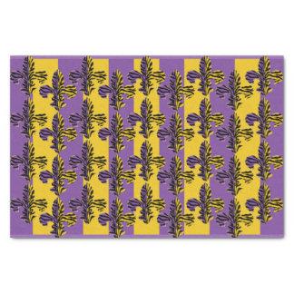 Papel seda de la flor de lis del tigre papel de seda pequeño