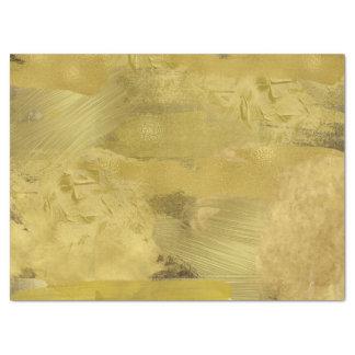 Papel seda de la pintura del oro papel de seda grande