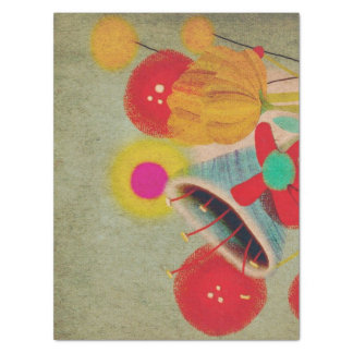Papel seda de la turquesa del vintage papel de seda extragrande