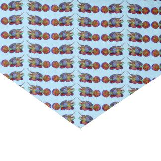 Papel seda de los pescados del filón de Dragonet Papel De Seda Pequeño