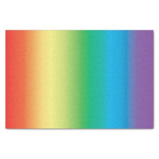 Papel seda del arco iris papel de seda pequeño