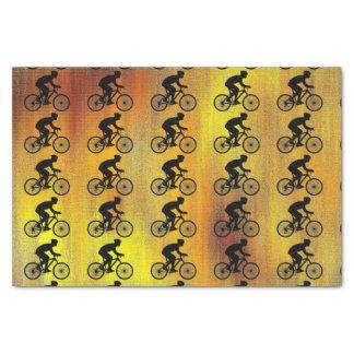 Papel seda del ciclista papel de seda pequeño