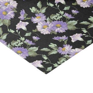 Papel seda del estampado de flores del Victorian