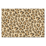 Papel seda del estampado leopardo papel de seda pequeño