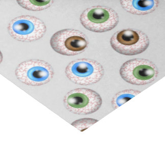 Papel seda del modelo del globo del ojo del día de papel de seda mediano