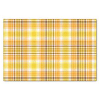 Papel seda del otoño de la tela escocesa papel de seda pequeño