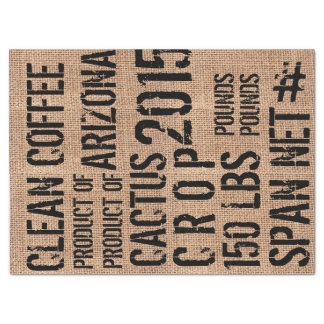 Papel seda del puf del café papel de seda grande