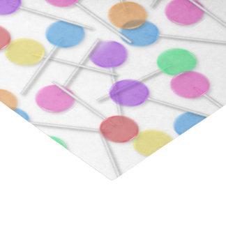 Papel seda dulce de la invitación del modelo del papel de seda mediano
