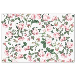 Papel seda floral de los capullos de rosa color de papel de seda extragrande