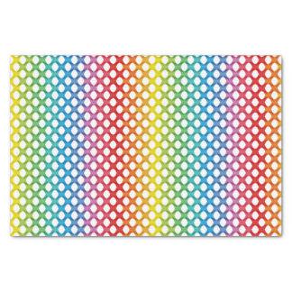 Papel seda lesbiano gay del arco iris de la ayuda papel de seda pequeño
