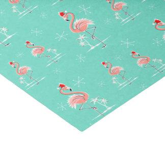 Papel seda multi del flamenco del navidad papel de seda pequeño