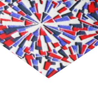 Papel seda patriótico del modelo de la diversión papel de seda mediano