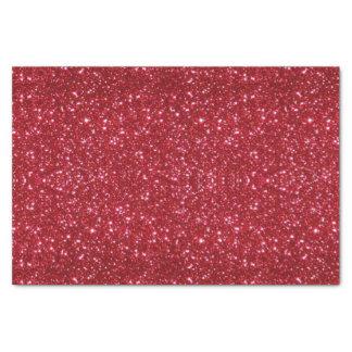 Papel seda rojo del brillo papel de seda pequeño