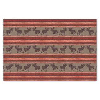 Papel seda rojo marrón rústico del modelo de los papel de seda pequeño